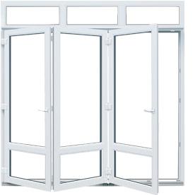 Puertas plegables pvc a medida