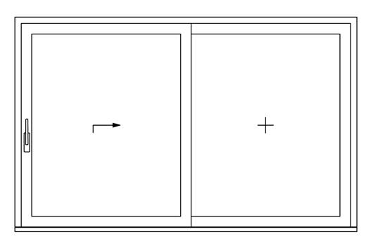 Fabrica de puertas de pvc corredizas