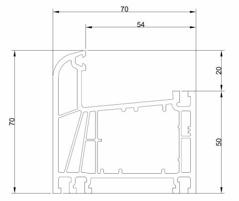 Puertas de pvc a medida interiores y terrazas